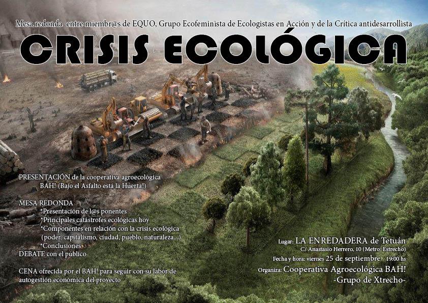 Crisis ecológica
