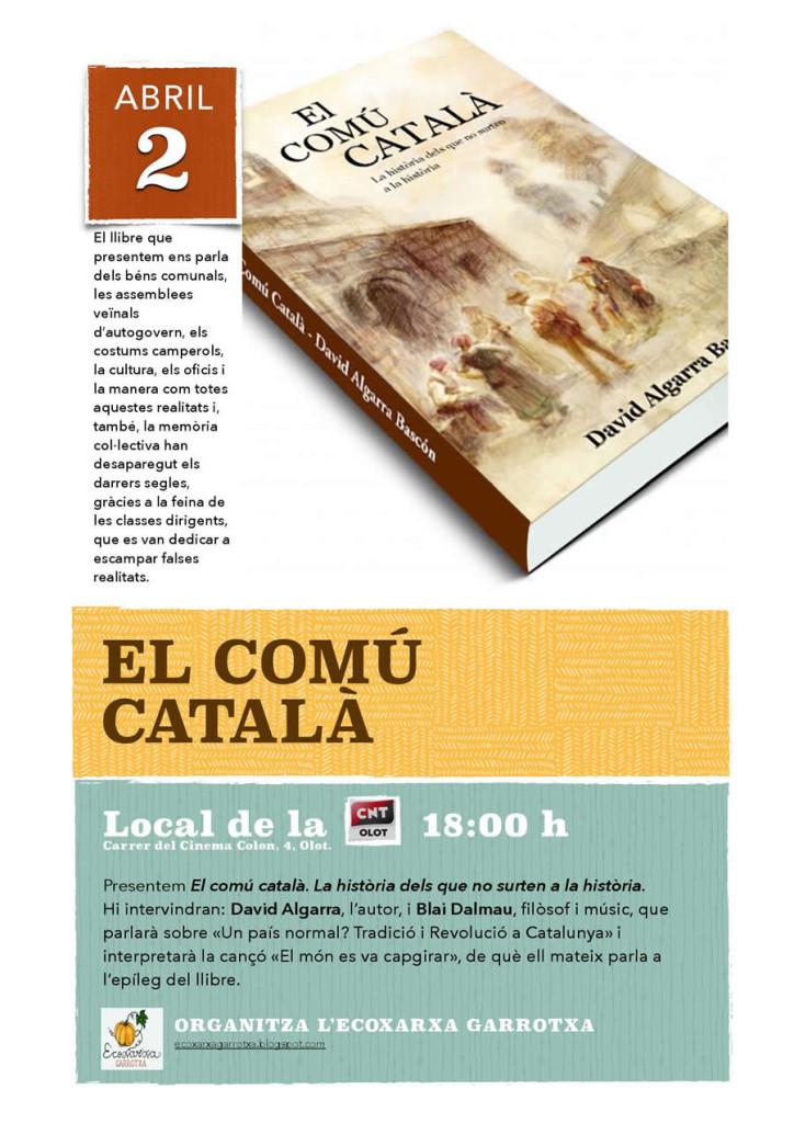 El comú català